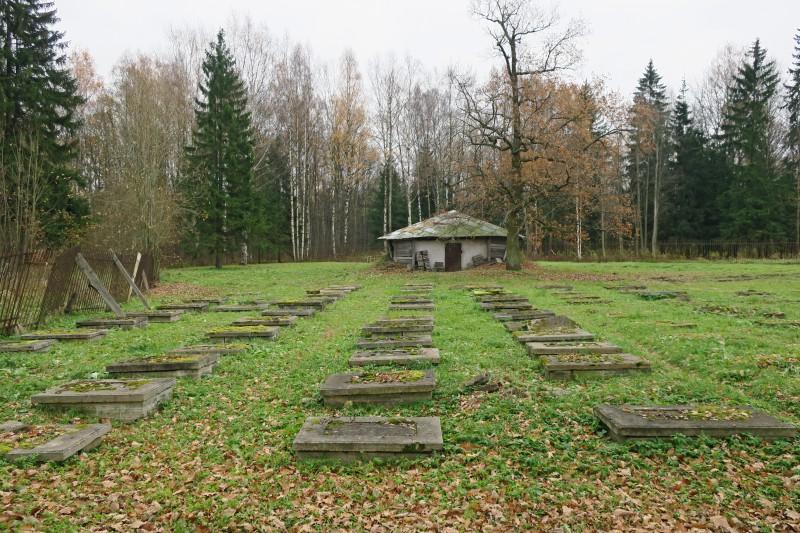 Пенсионерская конюшня и кладбище царских лошадей